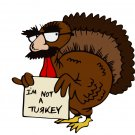 I'm Not a Turkey SVG,DXF,PNG,EPS,JPG,and PDF files