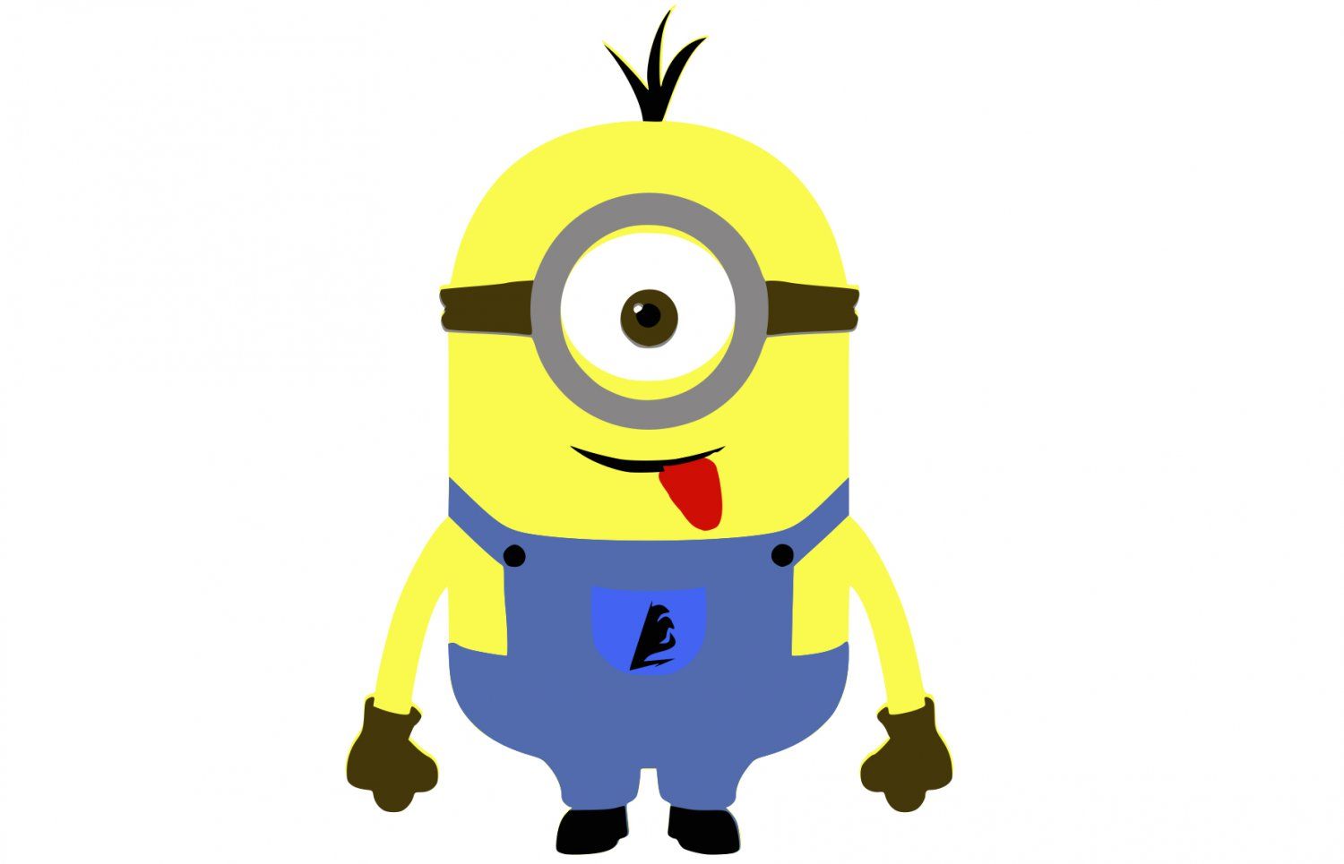 Svg Eps Dxf Png Pdf: Yellow Minion SVG,PNG,EPS,DXF,JPG,and PDF Files