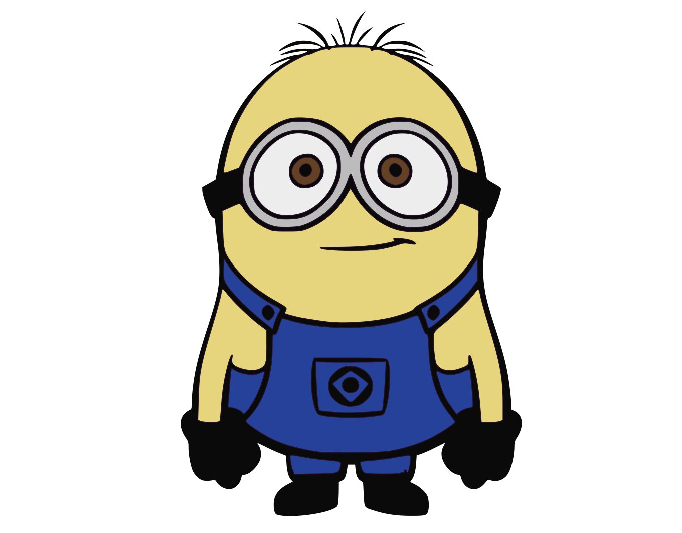 Svg Eps Dxf Png Pdf: Minion 2 SVG,DXF,PNG,EPS,JPG,and PDF Files