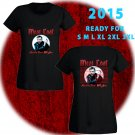 WOW MEAT LOAF TOUR 2015 BLACK TEE WOMEN S-3XL ASTR