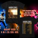 WOW AARON LEWIS THE SINNER TOUR 2016 BLACK TEE S-3XL ASTR