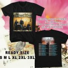 WOW OAR THE XX TOUR 2016 BLACK TEE S-3XL ASTR111