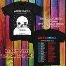 WOW WEEZER SUMMER TOUR 2016 BLACK TEE S-3XL ASTR111