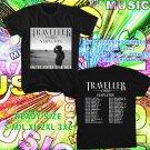 WOW CHRIS STAPLETON THE TRAVELLER TOUR 2016 BLACK TEE S-3XL ASTR111