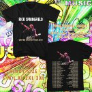 WOW RICK SPRINGFIELD SUMMER TOUR 2016 BLACK TEE S-3XL ASTR