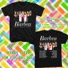 WOW BARBARA STREIND THE MUSIC THE MEM'RIES THE MAGIC TOUR 2016 BLACK TEE S-3XL ASTR