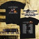 WOW DAVID CROSBY SOLO ACOUSTIC TOUR 2016 BLACK TEE S-3XL ASTR111