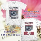 WOW NEIL YOUNG REBEL CONTENT TOUR 2016 WHITE TEE S-3XL ASTR