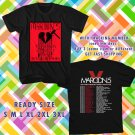 WOW MAROON 5 WITH TOVE LO TOUR 2016 BLACK TEE S-3XL ASTR 443