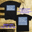 WOW BASTILLE MINI NORTH AMERICA TOUR 2016 BLACK TEE S-3XL ASTR