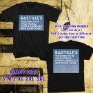 WOW BASTILLE MINI NORTH AMERICA TOUR 2016 BLACK TEE S-3XL ASTR