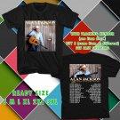 WOW ALAN JACKSON STILL TOUR 2016 BLACK TEE S-3XL ASTR