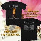 WOW BOB DYLAN UNITED STATES TOUR 2016 BLACK TEE S-3XL ASTR