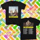 WOW DIEANTWOORD N.AMERICAN TOUR 2016 BLACK TEE S-3XL ASTR 448