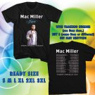 WOW MAC MILLER THE DIVINE FEMININE TOUR 2016 BLACK TEE S-3XL ASTR 445