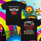 WOW BON JOVI THIS HOUSE NOT FOR SALE NEW ALBUM TOUR 2016 BLACK TEE S-3XL ASTR 634