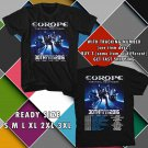 WOW EUROPE 30TH ANNIV TOUR 2016 THE FINAL COUNTDOWN BLACK TEE S-3XL ASTR