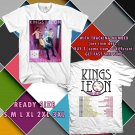 WOW NEW ALBUM WALLS FROM KING OF LEON TOUR 2017 WHITE TEE S-3XL ASTR