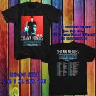WOW S. MENDES ILLUMINATE WORLD TOUR 2017 BLACK TEE S-3XL ASTR657