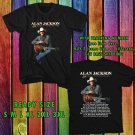 WOW ALAN JACKSON STILL KEEPIN COUNTRY TOUR 2017 BLACK TEE S-3XL ASTR