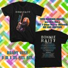 WOW BONNIE RAITT TOUR 2017 BLACK TEE S-3XL ASTR