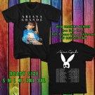 WOW ARIANA GRANDE TOUR 2017 BLACK TEE S-3XL ASTR