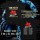 WOW TOM PETTY TOUR 2017 BLACK TEE S-3XL ASTR