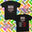 WOW MUSE AND THIRTY SECOND TO MARS TOUR 2017 BLACK TEE S-3XL ASTR 997