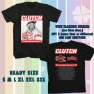 WOW CLUTCH PSYCHIC WARFARE WORLD TOUR 2017 BLACK TEE S-3XL ASTR 887