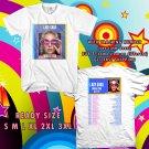 WOW LADY GAGA JOANNE TOUR 2017 WHITE TEE S-3XL ASTR 465