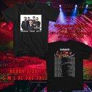 WOW BLUE OYSTER CULT WORLD TOUR 2017 BLACK TEE S-3XL ASTR 442