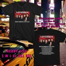 WOW LOVERBOY N.AMERICA TOUR 2017 BLACK TEE S-3XL ASTR