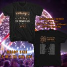 WOW ZAC BROWN BAND WELCOME HOME TOUR 2017 BLACK TEE S-3XL ASTR 776