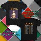 WOW IDINA MENZEL:IDINA WORLD TOUR 2017 BLACK TEE S-3XL ASTR