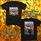 WOW KISS UEROPE TOUR 2017 BLACK TEE S-3XL ASTR