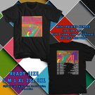 NEW THE FLAMING LIPS TOUR 2017 black TEE W DATES DMTR 443