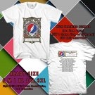 NEW DEAD AND COMPANY SUMMER TOUR 2017 black TEE W DATES DMTR