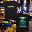 NEW BONANZA CAMPOUT FESTIVAL MAY 2017 black TEE 2 SIDE DMTR