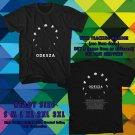 NEW ODESZA UNITED STATES TOUR 2017 black TEE 2 SIDE DMTR