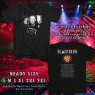 NEW BLACKBEAR DIGITAL DRUG TOUR 2017 BLACK TEE W DATES DMTR