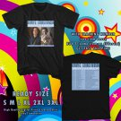NEW KENNY G AND GEORGE BENSON TOUR 2017 BLACK TEE W DATES DMTR 554