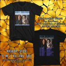 NEW KENNY G AND GEORGE BENSON TOUR 2017 BLACK TEE W DATES DMTR