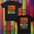 NEW GOVT MULE COME WHAT MAY TOUR 2017 BLACK TEE W DATES DMTR