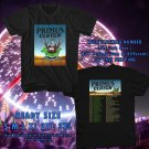 NEW AN EVENING WITH PRIMUS AND CLUTCH SUMMER TOUR 2017 black TEE W DATES DMTR 332