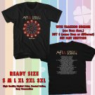 NEW AFI AND CIRCA SURVIVA USA TOUR 2017 BLACK TEE W DATES DMTR 664