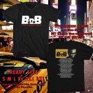 NEW BoB THE ELEMENTS TOUR 2017 BLACK TEE W DATES DMTR 888