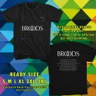 NEW BROODS NEW ALBUM CONSCIOUS TOUR 2017 BLACK TEE W DATES DMTR 443