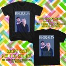NEW BROODS NEW ALBUM CONSCIOUS TOUR 2017 BLACK TEE W DATES DMTR 112