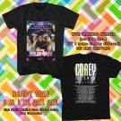NEW COREY FELDMAN : COREY'S HEAVENLY TOUR 2017 BLACK TEE W DATES DMTR