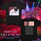 NEW KENDRICK LAMAR W TRAVIS SCOTT THE DAMN TOUR 2017 BLACK TEE W DATES DMTR 168